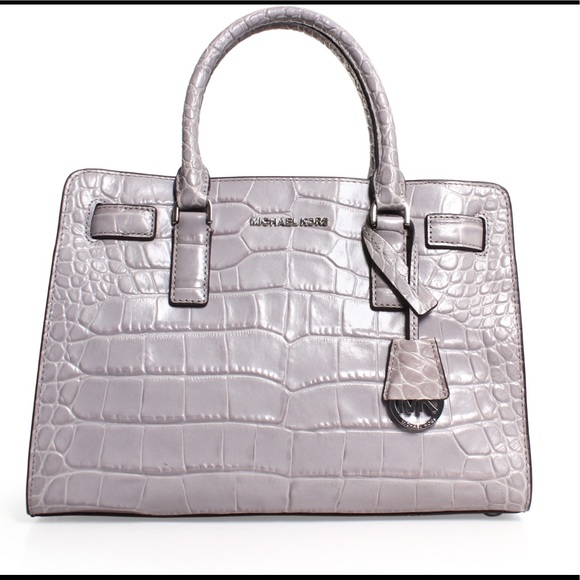 3a8b7581b8b2a2 Michael Kors Dillon Crocodile Embossed Leather. M_5a9080561dffdab19a7d37e3